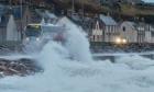 Waves at Portessie.