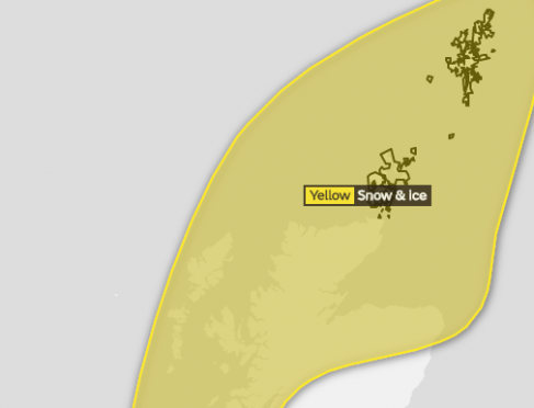 Weather warnings remain in place with snow set to continue