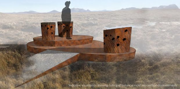 An artist impression of the proposed viewing platform