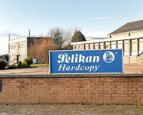 THE PELIKAN HARCOPY FACTORY IN TURRIFF.