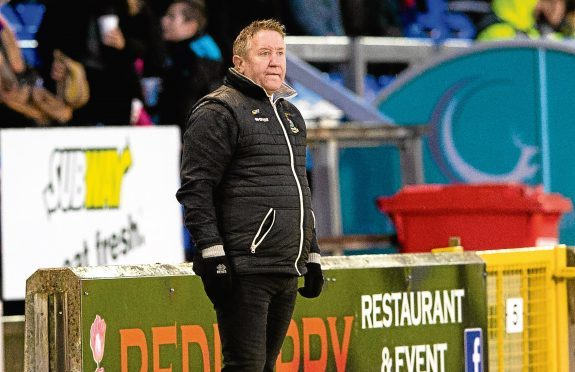 John Robertson has had two previous spells with Livingston.