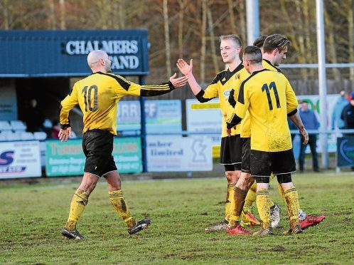 Cove's Harry Milne scores to make it 2-0. Pictures by KATH FLANNERY
