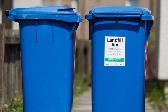 Highland Council has issued a plea to householders to only put clean and dry items into blue recycling bins.