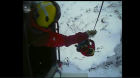 WATCH: Inverness Coastguard rescue stranded Glencoe skiers