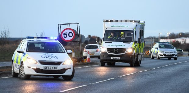 Man charged after two car crash on the A90 leaves one person in