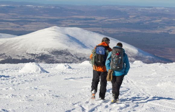 "Warning to Scottish hill walkers as risk of deadly snow slides is ""considerable"""
