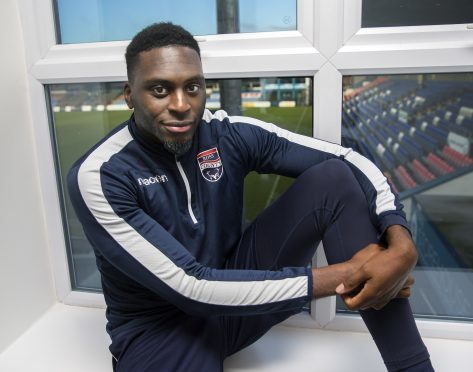 Ross County's Inih Effiong