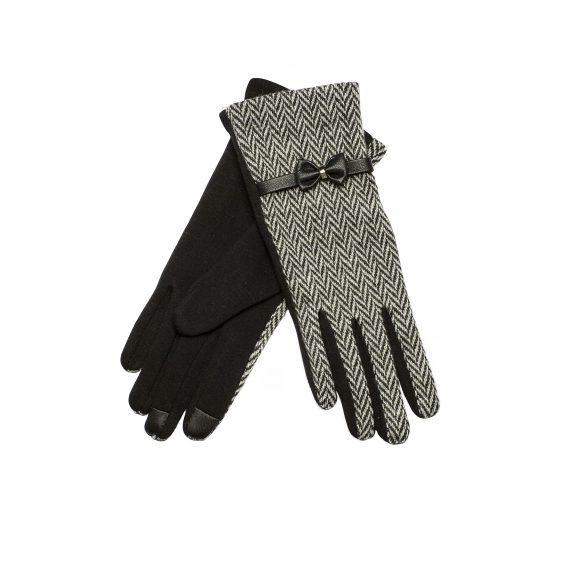Ladies Tweed Touch Gloves £5.99