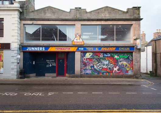 Uncertain future for Moray toy shop after it is withdrawn from auction for third time