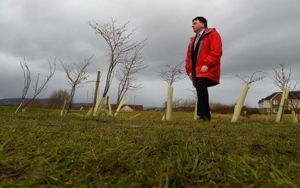 Highland Councillor Ken Gowans on what is to become the second phase of the Inshes Park in Inverness.