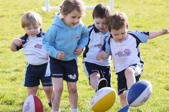 Rugbytots in Aberdeen.