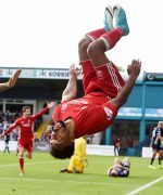Shay Logan looking to end another Ross County away trip with a trademark celebration