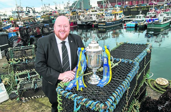 Fraserburgh chairman Finlay Noble previews the upcoming William Hill Scottish Cup tie.