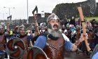 Vikings take over Shetland for Up Helly Aa festival