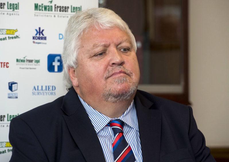 Caley Thistle chairman Graham Rae.