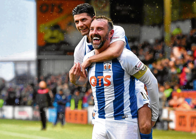 Kris Boyd scored from the penalty spot for Killie.