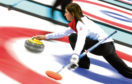 SOCHI, RUSSIA - FEBRUARY 12:  Eve Muirhead of Great Britain in action during the Curling Round Robin match between Canada and Great Britain during day five of the Sochi 2014 Winter Olympics at Ice Cube Curling Center on February 12, 2014 in Sochi, Russia.  (Photo by Clive Mason/Getty Images)