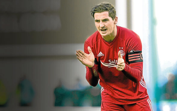 Kenny McLean scored Aberdeen's opening goal