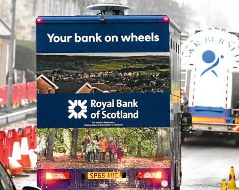 Matthew Baxter from Banff has slammed the Royal Bank Of Scotland mobile banking service.