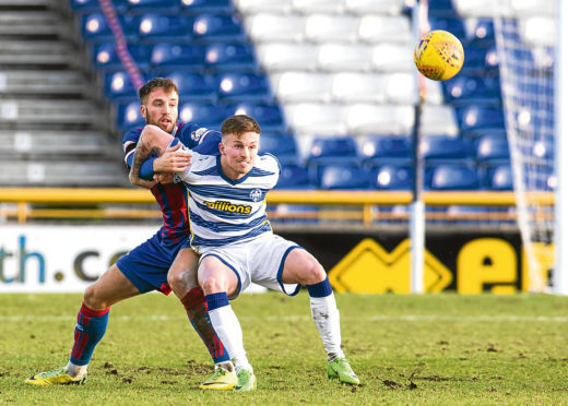 Caley Thistle defender McKay falls to yellow peril