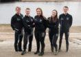 Pictured is Robert Gordon University Boat Club's team.