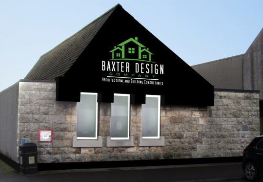 What the frontage of the former bank will look like.