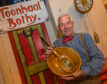 "Joe Aitken from Kirriemuir won the ""champion of champions"" bothy ballads title last year."