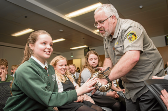 Moray youngsters take a walk on the wild side to learn about science