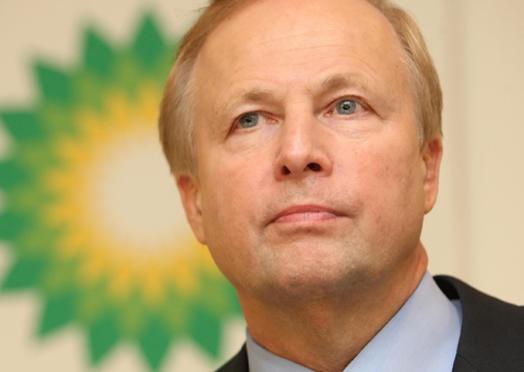 BP chief executive Bob Dudley