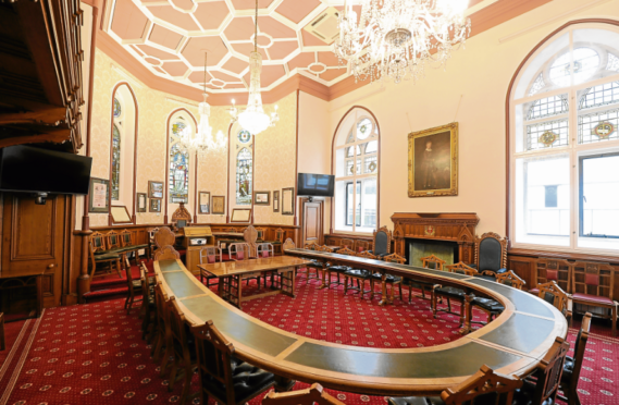 The civic reception is to be held at Inverness Town House