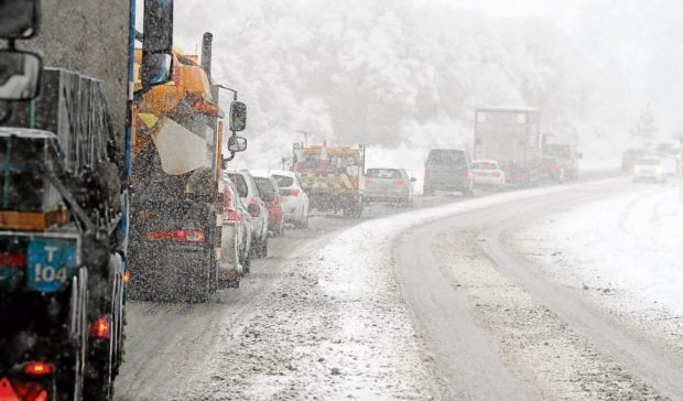 Scottish Borders weather: Area set for heavy snow