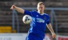 Cove Rangers' Eric Watson in action.
