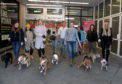 Legally Blonde dog auditions at the Bon Accord Centre.