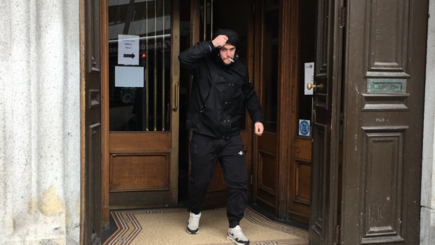 Police found 65,000 illegal cigarettes in Kevin Paterson's parents' garage.