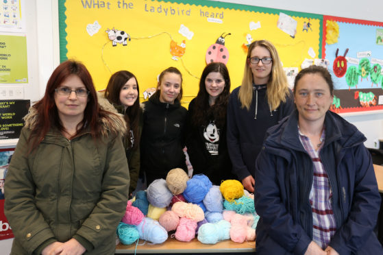 The pupils have launched an appeal for help.
