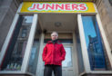 Graeme Mackenzie owner of the building that used to be Junners toy shop. Picture by Jason Hedges.