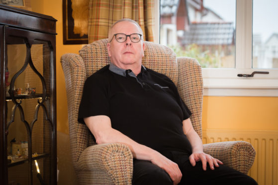 Chris Bridgeford, from Forres, founded chronic pain campaign group Affa Sair.