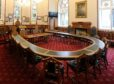 The original Council Chamber where the Inverness Area Committee still sits.