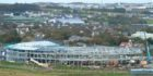 The hospital is taking shape in Kirkwall.