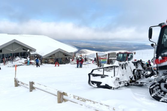 The Ptarmigan restaurant at the Cairngorm Ski Centre. Picture by Sandy McCook