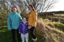 SANDEND CARAVAN SITE OWNER JANE WINFIELD WITH DAUGHTER SARAH DAWSON AND GRANDDAUGHTER ANNABEL (7)