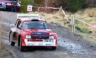 David Ross and Kyle MacKintosh, both of Auldearn in their Metro. Pictures by Sandy McCook