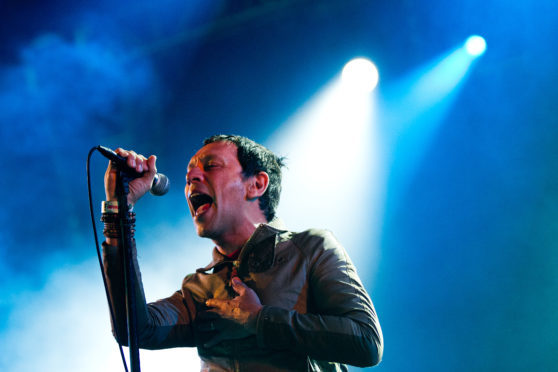Rick Witter is the lead singer with Britpop band Shed Seven.