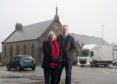 Richard Lochhead MSP and SNP Councillor Theresa Coull, are demanding that the Moray Council listen to the people of Keith over the future of the Longmore Hall in Keith. People in Keith has no opportunity to try to save the hall as the Council didn't include it in its public consultation it's closure being in their plans.   Photo by Michael Traill