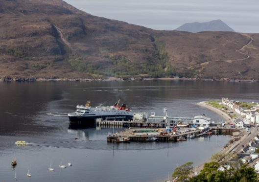 Ullapool Harbour by Steven Gourlay Photography Ltd.