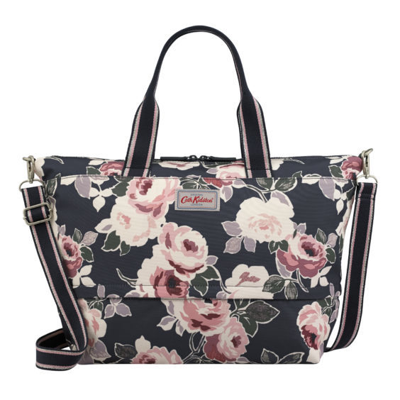 There is nothing nicer than a weekend getaway and Cath Kidston has the perfect packing solutions. Travel in style with this paper rose expandable travel bag, £60