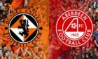 Dons take on Dundee United in the Scottish Cup.