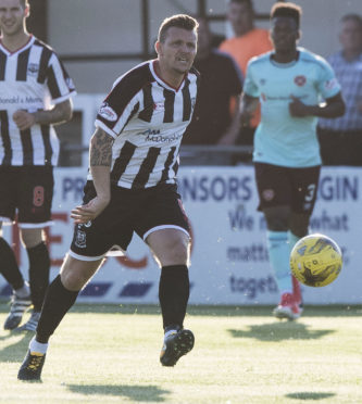 Jon Paul McGovern in action for Elgin.
