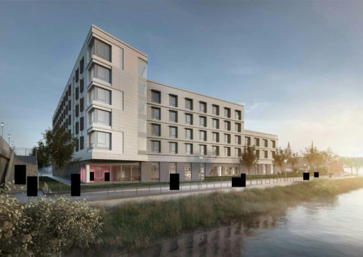 Plans Submitted For City Centre Hotel Which Would Be Biggest In Inverness Press And Journal