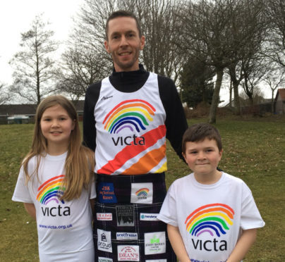 Martin Reid - who is running the London Marathon  Martin Reid Age - 39 Live in Inverurie Married to my wife Kelly 39 who is making the trip down to London to support me. 2 Children - Ellie 10 and Darach aged 7